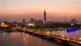 برج القاهرة كوبري قصر النيل