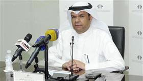 المتحدث الرسمي باسم المؤسسة إبراهيم الناشي في مؤتمر صحفي