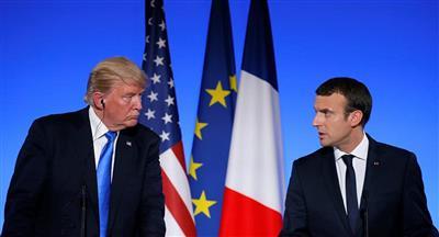 ترامب ينتقد دعوة ماكرون لإنشاء جيش أوروبي