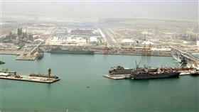 استمرار توقف حركة الملاحة البحرية بموانئ الشويخ والدوحة والشعيبة