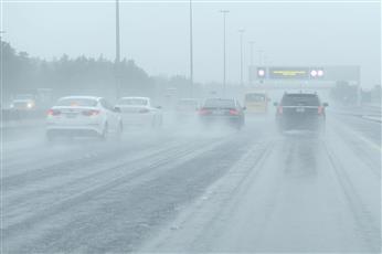 «الأرصاد»: فرصة لأمطار متفرقة خفيفة إلى متوسطة رعدية أحيانا مساء اليوم
