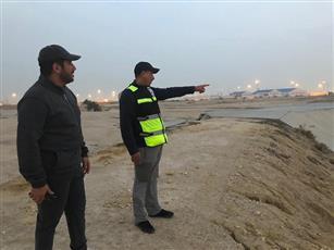 وزير الأشغال ومدير هيئة البيئة يتفقدان خزانات مياه الأمطار بجنوب الصباحية