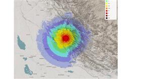 الشبكة الوطنية لرصد الزلازل: رصد هزتين ارتداديتين بلغت قوتهما 5.1 و4.6 درجة على مقياس ريختر على التوالي