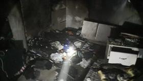إخماد حريق منزل بالشهداء.. دون إصابات