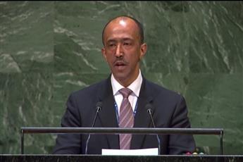 نائب مندوب دولة الكويت الدائم لدى الامم المتحدة المستشار بدر المنيخ