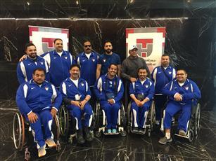 منتخب المعاقين لكرة السلة يعسكر بتركيا استعدادا للبطولة الخليجية