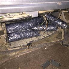 «الجمارك»: ضبط وافد عربي حاول تهريب نحو كيلو و600 غرام شبو قادماً من العراق