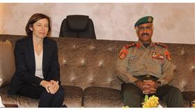 وزيرة الجيوش الفرنسية تصل إلى البلاد