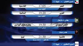 أبرز المباريات المحلية والعربية والعالمية ليوم الثلاثاء 4 ديسمبر 2018