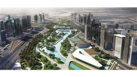 «نهر أخضر» في مصر يُحاكي النيل
