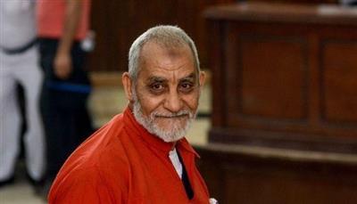 «الجنايات المصرية»: المؤبد لمحمد بديع مرشد الإخوان بقضية «أحداث مكتب الإرشاد»