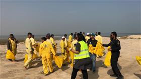 «البلدية»: رفع 100 كيس من الأنقاض والمخلفات من شاطئ الصليبيخات