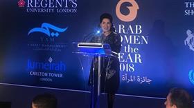 سعاد عبدالله تنال جائزة المرأة العربية لعام 2018