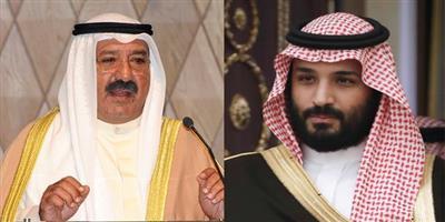 النائب الأول هنأ ولي العهد السعودي بالذكرى الـ 4 لتولي خادم الحرمين مقاليد الحكم