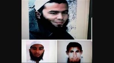 المتهمون الثلاثة بقتل السائحتين الاسكندنافيتين