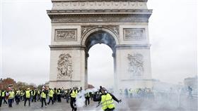 فرنسا.. تراجع بأعداد المشاركين في احتجاجات السترات الصفراء