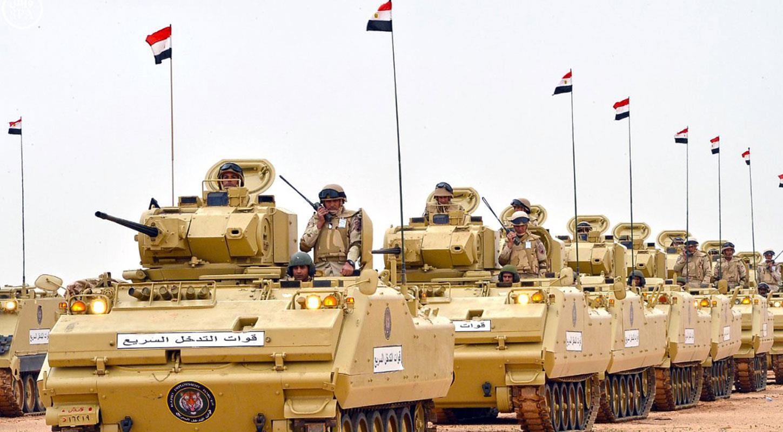 الجيش المصري يعلن رفع حالة التأهب القصوى لتنفيذ عملية شاملة ضد الإرهاب