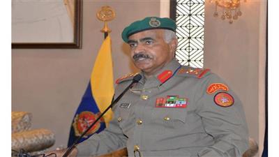 رئيس الأركان العامة للجيش الفريق الركن محمد الخضر