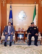 «الداخلية» تؤكد أهمية تعزيز العلاقات الأمنية بين العراق والكويت