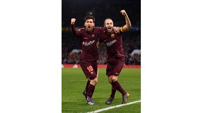 دوري الأبطال.. تعادل ثمين لبرشلونة وخماسية للبايرن