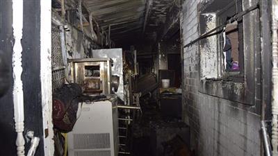حريق منزل للعزاب في خيطان أسفر عن وقوع ٣ إصابات بحروق وأخرى بالاختناق