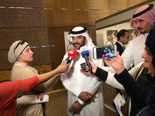 الكعبي تعاون في ثلاثة مجالات مع وزارة الصحة بالكويت