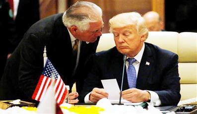 ترامب يطيح بتيلرسون.. فجأة