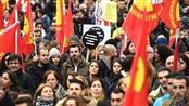 الآلاف يتظاهرون في أوروبا اعتراضاً على عمليات الجيش التركي بعفرين السورية