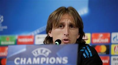 لاعب ريال مدريد لوكا مودريتش