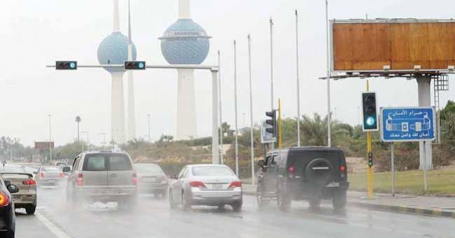 الأرصاد البلاد تشهد أمطارًا متفرقة وقد تستمر إلى الخميس