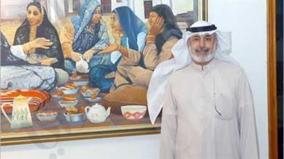 فنانون كويتيون يستحضرون «نسمات من الماضي» بريشهم وألوانهم بمعرض تشكيلي