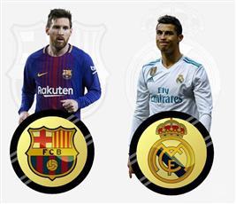 «ريال مدريد» و«برشلونة» يلتقيان في أول «كلاسيكو» في 2018 غدا الأحد