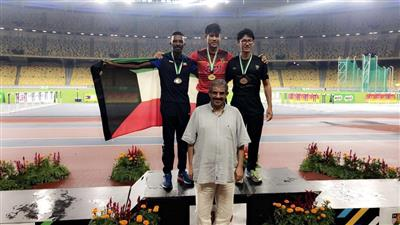 الكويت تحصد ثلاث فضيات في مستهل بطولة ماليزيا لألعاب القوى
