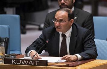 سفير الكويت بالأمم المتحدة يتحدث عن احتمال الدعوة لاجتماع طارئ لمجلس الأمن بشأن التطورات في غزة