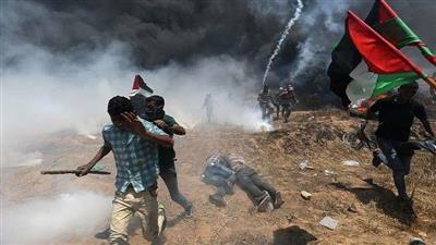 المجزرة التي ارتكبها الجيش الإسرائيلي في غزة