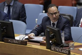 مندوب دولة الكويت الدائم لدى الأمم المتحدة السفير منصور العتيبي