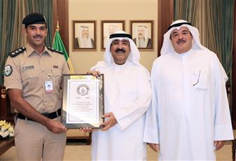 البطل العالمي للدراجات المائية محمد بوربيع: تشرفت بتكريمي من معالي نائب رئيس الحرس الوطني