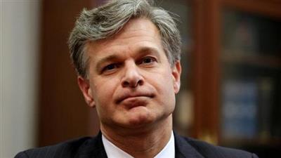 مدير مكتب التحقيقات الاتحادي كريستوفر راي