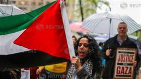 مظاهرات فى نيويورك دعما للفلسطينيين