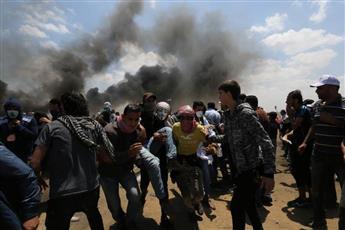 من غزة يوم 15 مايو مسيرة العودة