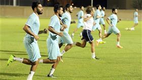 «الأزرق» يكثف استعداداته لمواجهة منتخب مصر