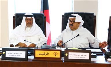 ناصر الصباح بحث خطة التنمية وإستراتيجية مكافحة الفساد