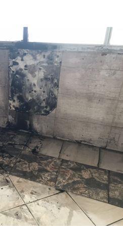 السيطرة على حريق محدود في فصل دراسي بمدرسة في الخالدية