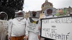 الجنازة الرمزية للنشطاء فى باريس