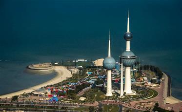 طقس شديد الحرارة في الكويت