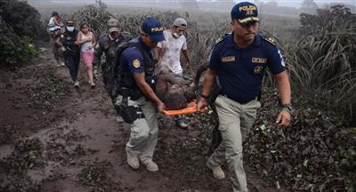 ارتفاع ضحايا بركان غواتيمالا إلى 109 قتلى