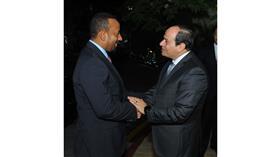 الرئيس المصري يبحث مع رئيس وزراء اثيوبيا تطورات موقف سد النهضة