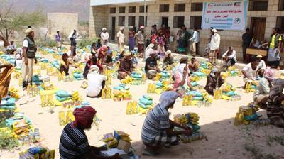 الجمعية الكويتية للإغاثة مستمرة في توزيع المساعدات الانسانية بمدينة سقطرى