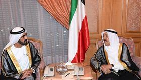 سمو الأمير يستقبل نائب رئيس دولة الإمارات العربية المتحدة