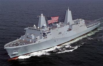 سفينة للبحرية الأمريكية تنتشل 12 جثة و41 ناجياً من قارب لاجئين أمام سواحل ليبيا